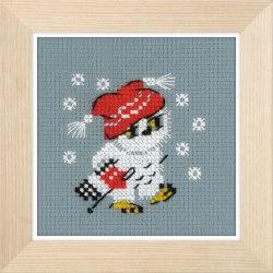 Набор для вышивания Риолис Снежок