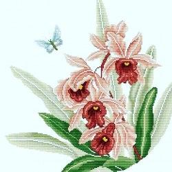 Набор для вышивания Белоснежка Нежные цветы