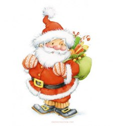 Набор для вышивания Белоснежка Санта