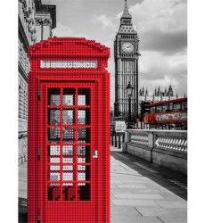 Алмазная вышивка Наследие Телефонная будка в Лондоне
