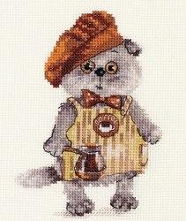 Набор для вышивания Алиса Басик бариста