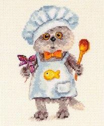 Набор для вышивания Алиса Басик шеф-повар