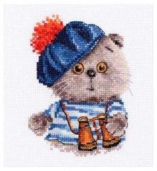 Набор для вышивания Алиса Басик моряк