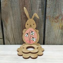 Набор для вышивания Добры лiс Пасхальный кролик 9Д