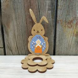 Набор для вышивания Добры лiс Пасхальный кролик 7Д