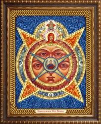 Алмазная мозаика Алмазная живопись Икона Всевидящее Око Божие