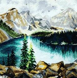 Набор для вышивания Овен Озеро Морейн