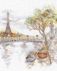 Набор для вышивания Овен Осень в Париже