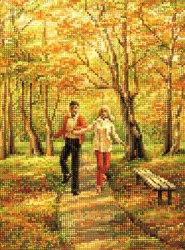 Алмазная мозаика Наследие Прогулка в парке