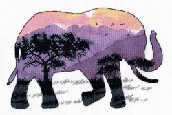 Набор для вышивания Овен Мир животных. Слон