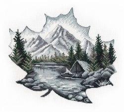 Набор для вышивания Овен Наедине с природой