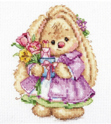 Набор для вышивания Алиса Зайка Ми. Весна