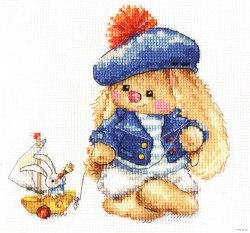 Набор для вышивания Алиса Зайка Ми. Моряк