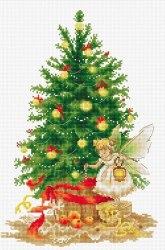 Набор для вышивания Luca_S Рождественская елка