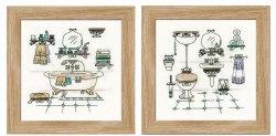 Набор для вышивания Риолис Интерьер ванной комнаты