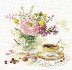 Набор для вышивания Алиса Утренний кофе