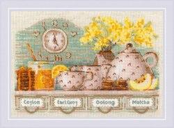 Набор для вышивания Риолис Tea Time