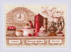 Набор для вышивания Риолис Coffee Time