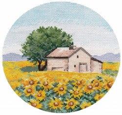 Набор для вышивания Овен Миниатюра. Подсолнухи
