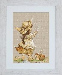 Набор для вышивания Luca_S Летний дождь