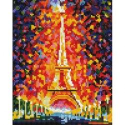 Алмазная мозаика Белоснежка Париж-огни Эйфелевой башни