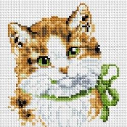 Алмазная мозаика на раме Белоснежка Кошка Алиса