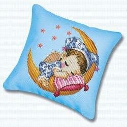 Набор для вышивания подушки Белоснежка Сладкий сон