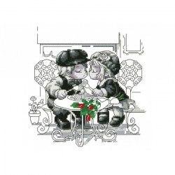 Набор для вышивания Белоснежка Тет-а-тет