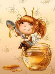 Набор Бисером Наследие Фея мёда