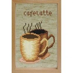 Набор для вышивания с рамкой Белоснежка Кофе