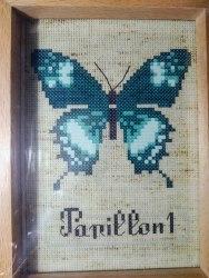 Набор для вышивания крестиком Белоснежка Бабочка