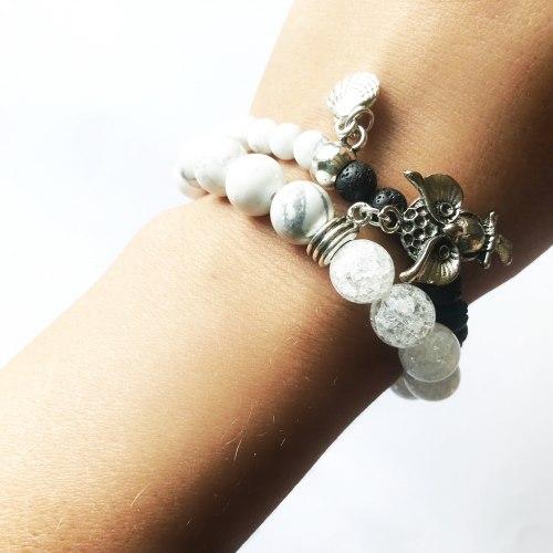 Набор браслетов •Говлит -лава• Taukins