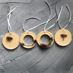 Флорентийское саше с ароматом лаванды Volshebnye.svechi