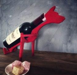 """Подставка для вина """"Собака"""""""