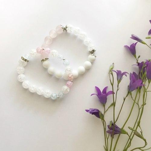 Набор браслетов •Нежный• Taukins