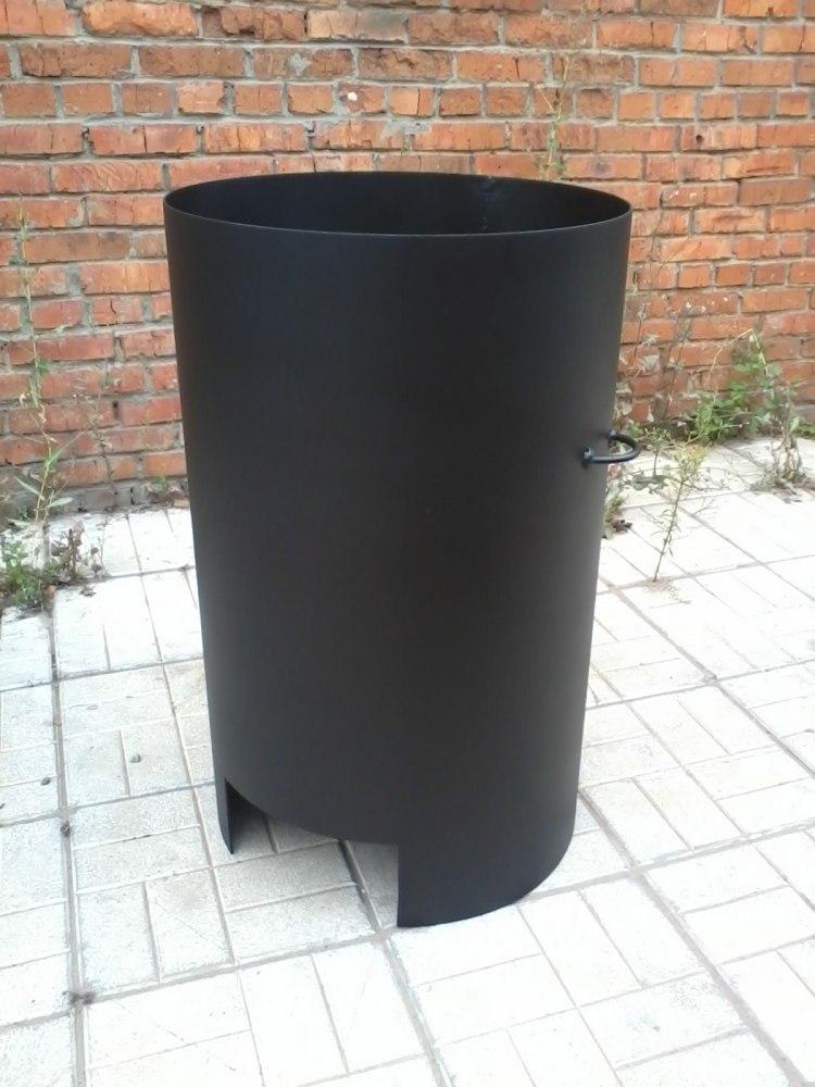 Печка из бочки для сжигания мусора своими руками для 78