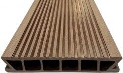 Террасная доска древесно полимерная Deckron, (шовная)