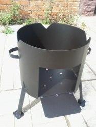 Печь для казана (сталь 2 мм)
