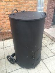 """Печь """"СМУГЛЯНКА"""" (для сжигания садового мусора) 250Л"""