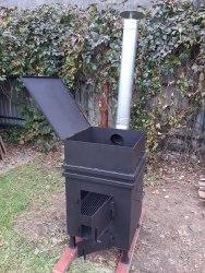 """Печь для сжигания садового мусора """"NADA"""" Плюс"""