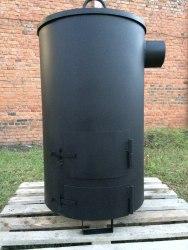 """Большая печь для сжигания садового мусора """"Смуглянка"""" супер"""