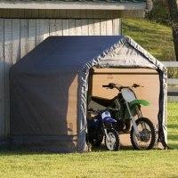 Сарай - гараж в коробке Shelterlogic