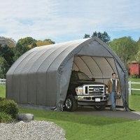Большой гараж для джипа 3,9*6,1*3,7м