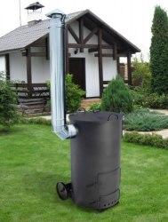 Печь для мусора УСМ-1