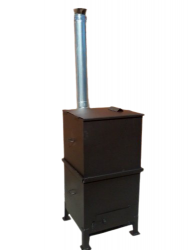 Печь для сжигания мусора (мусоросжигатель) «Уголек-450»