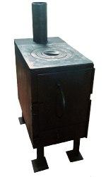 Печь-буржуйка №3 с плитой П1-3