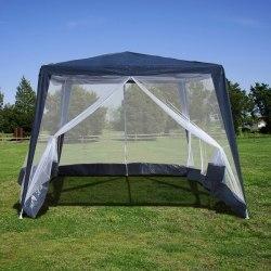 Садовый тент шатёр с москитной сеткой-3x3x2.4