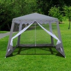 Садовый тент шатер с москитной сеткой-3x3x2.4m