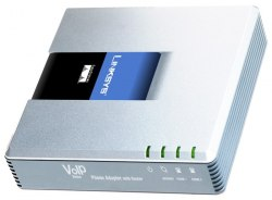 VoIP шлюз Linksys SPA2102