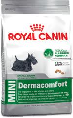 Сухой корм Royal Canin MINI DERMACOMFORT - 0,8 кг